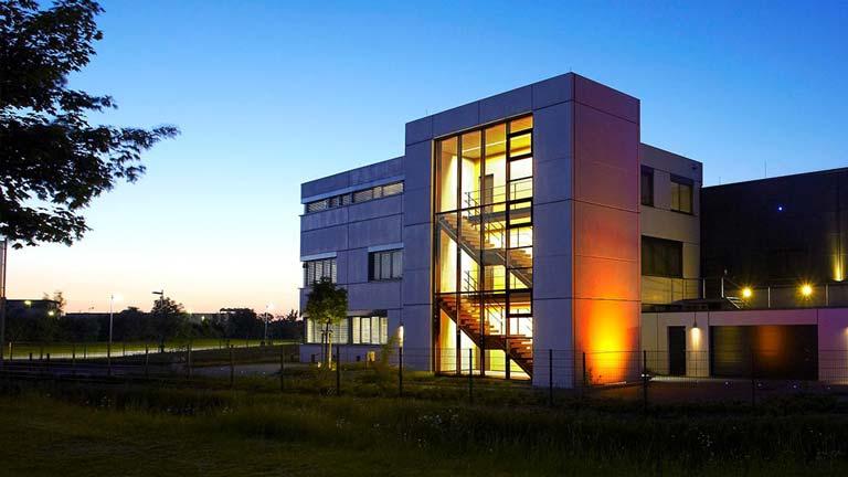 aixFOAM lydisolering - Virksomhedsbygningen, hvor der fremstilles lydabsorbenter