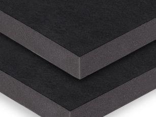 Akustikplade med robust tekstiloverflade