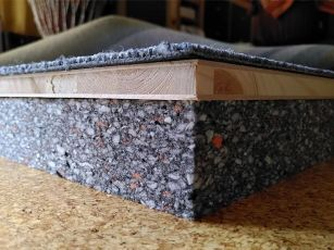 Absorptionsplader med tungt skum til isolering af strukturbåret støj
