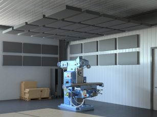 Akustik-sæt Square Industry