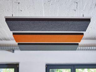 Design akustisk absorber, rektangel
